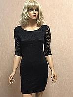 Чёрное женское платье Glamorous 38р (S)
