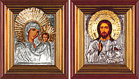 Венчальная пара икон Казанская