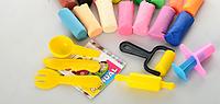 Тесто для лепки  16цветов + инструменты