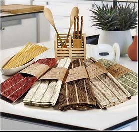 Кухонные наборы полотенец