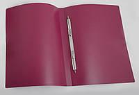 Папка-скоросшиватель  А4 D1806 бордовая