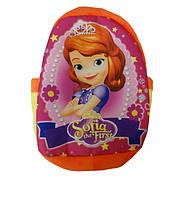 Детский плюшевый рюкзачок София прекрасная , новый