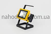 Переносной фонарь X-Balog 204  светодиодный прожектор 100W на 3 аккумулятора