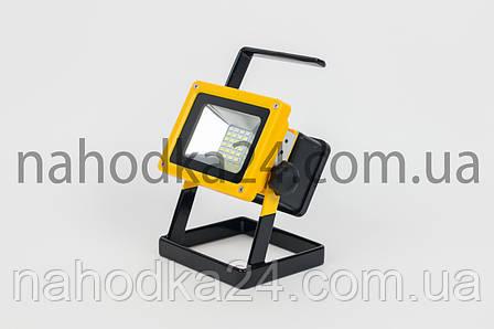Переносной фонарь X-Balog 204  светодиодный прожектор 100W на 3 аккумулятора, фото 2