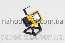 Переносной фонарь Hurry bolt 204  светодиодный прожектор 100W на 3 аккумулятора, фото 3