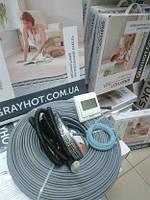 Підігрів підлоги кабельний GrayHot на 2,9м.кв + терморегулятор