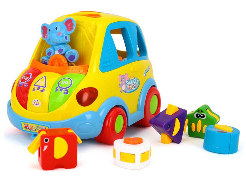 Игрушка сортер Умный автобус Hola toys(896)