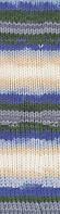 Пряжа Burcum bebe batik №6540 акрил для ручного вязания