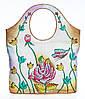 Оригінальна жіноча сумочка, з натуральної шкіри з ручним розписом