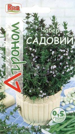 Насіння Прянощі Чабер Садовий 0,5 г Ріва Трейд, PL, фото 2