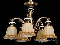 Люстра в античном стиле на 5 ламп 8419-5