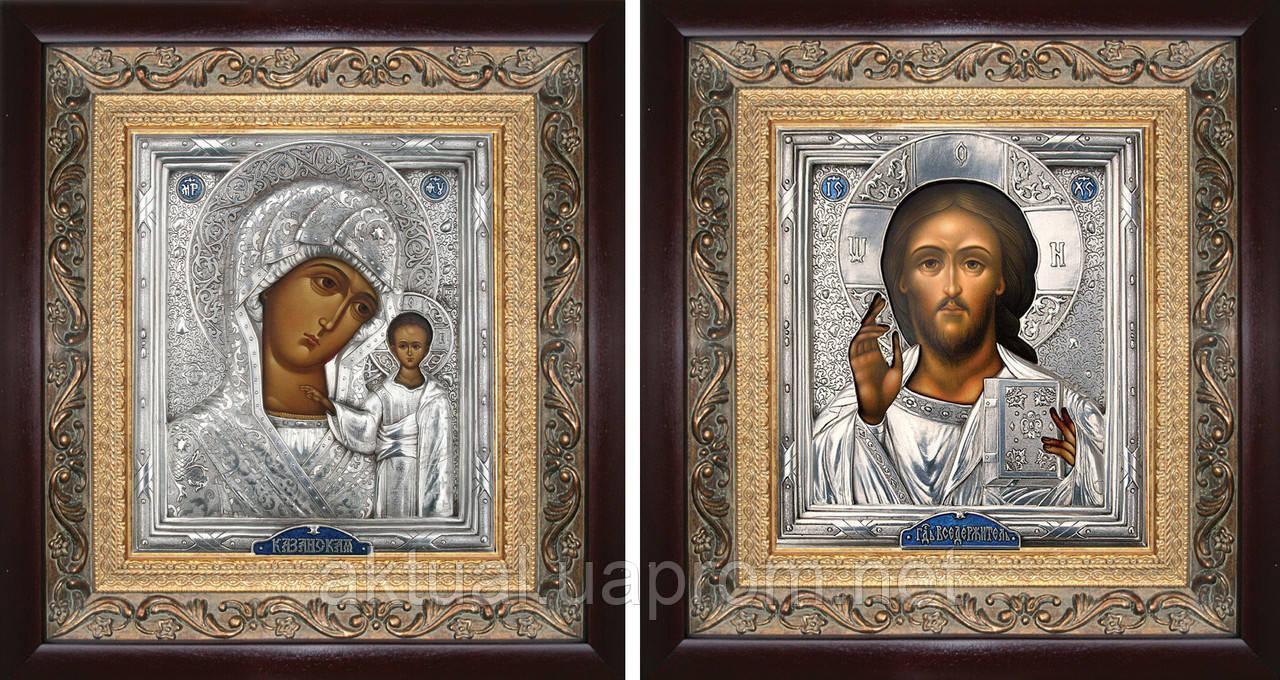 Венчальная пара икон Казанская из серии триптих