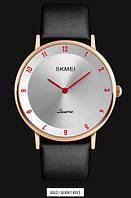 Мужские наручные часы SKMEI 1263 золотистый/красный, фото 1