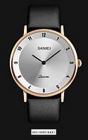 Мужские наручные часы SKMEI 1263 золотистый/черный, фото 1