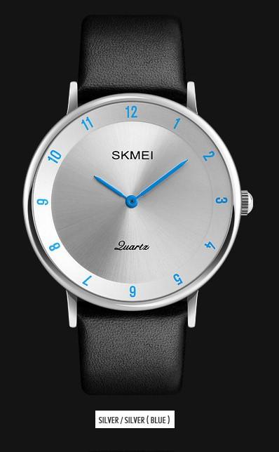 Мужские наручные часы SKMEI 1263 серебристый/голубой