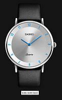 Мужские наручные часы SKMEI 1263 серебристый/голубой, фото 1