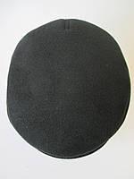 Кепка черного цвета из кашемира, фото 1