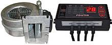 Автоматика Polster C-11 і вентилятор WPA-120 комплект для твердопаливного котла (аналог Atos)