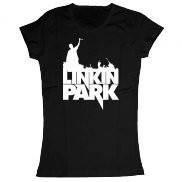 Женская футболка модная с принтом Linkin park-live in Texas