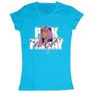 Женская футболка модная с принтом Nicki Minaj