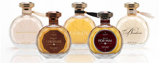 Hayari Parfums Goldy парфюмированная вода 100 ml. (Тестер Хаяри Парфюм Голди), фото 2
