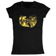 Женская футболка модная с принтом Wu-tang