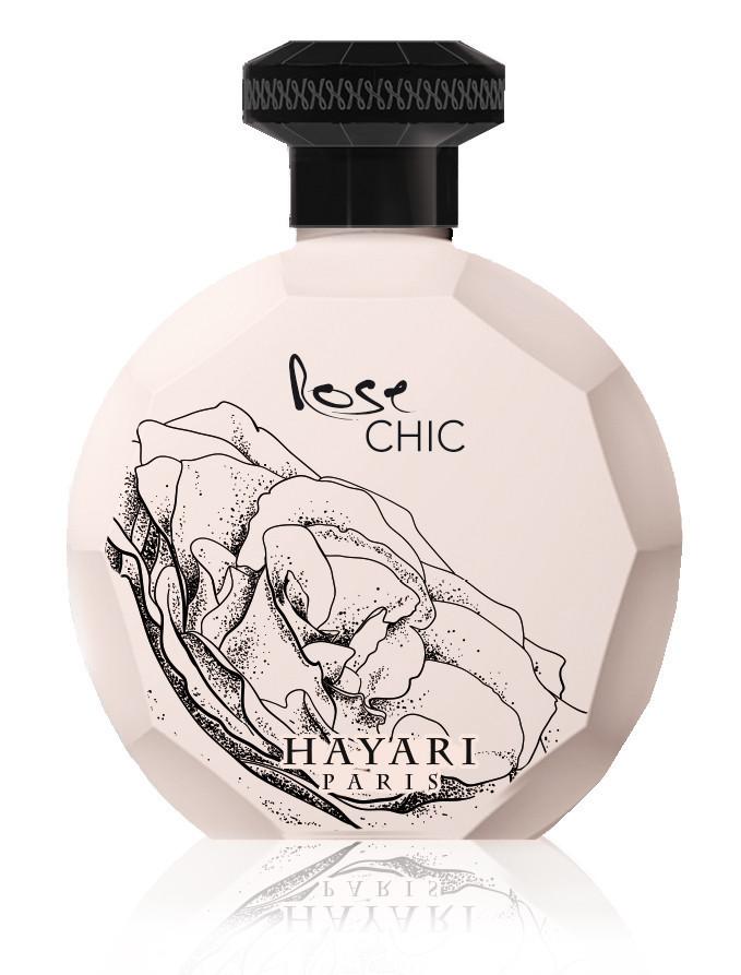 Hayari Rose Chic парфюмированная вода 100 ml. (Тестер Хаяри Парфюмс Роуз  Чик) 765d729518eb5
