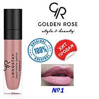 Жидкая помада Golden Rose Longstay liquid matte №1