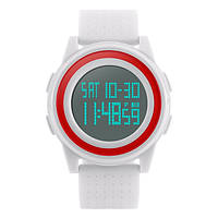 Мужские наручные часы SKMEI 1206 белый, фото 1