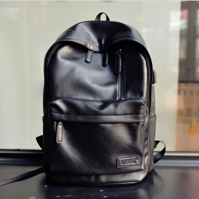 93099945f9f0 Мужской кожаный рюкзак. Модель 63227 - Интернет-магазин