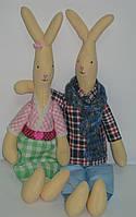 Игрушка Тильда Заяц и Зайка, фото 1