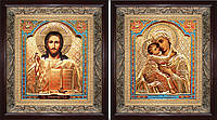 Венчальная пара икон Владимирская
