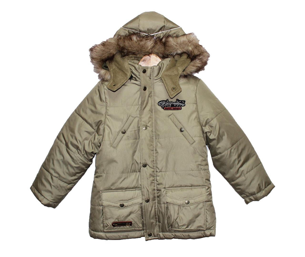 Куртки дитячі для хлопчика на зиму Чемпіон №2