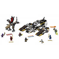 Lego Ninjago Внедорожник с суперсистемой маскировки 70595 Ultra Stealth Raider