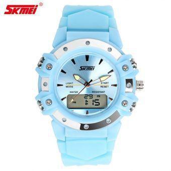 Наручные часы унисекс SKMEI 0821 голубые