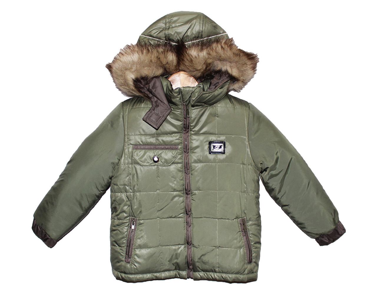 Куртки зимові для хлопчика на зиму Марк