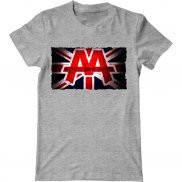 Мужская футболка модная с принтом Asking Alexandria reckless & relentless