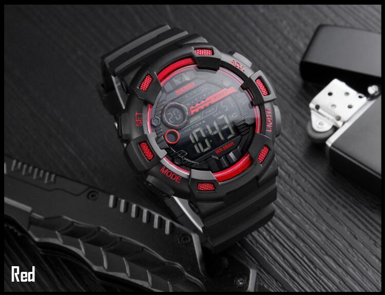 Мужские наручные часы SKMEI 1243 красные