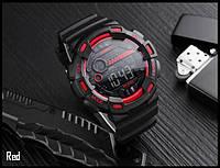 Мужские наручные часы SKMEI 1243 красные, фото 1