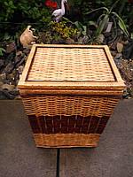Ящик квадратный большой с темной серединой