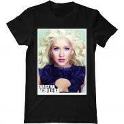 Мужская футболка модная с принтом Aguilera