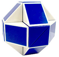 Головоломка RUBIK'S - Змейка (бело-голубая) (RBL808-1)