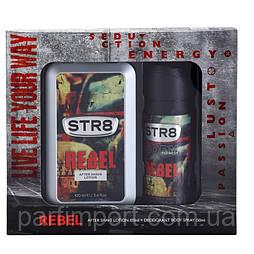 STR8 Rebel EDT 100 ml AFSL + deo Туалетная вода женская (оригинал подлинник  Греция)