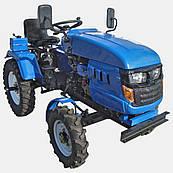 Минитрактор DW 160LX (16 л.с., колеса 5,00-12/6,5-16,  с гидравликой)