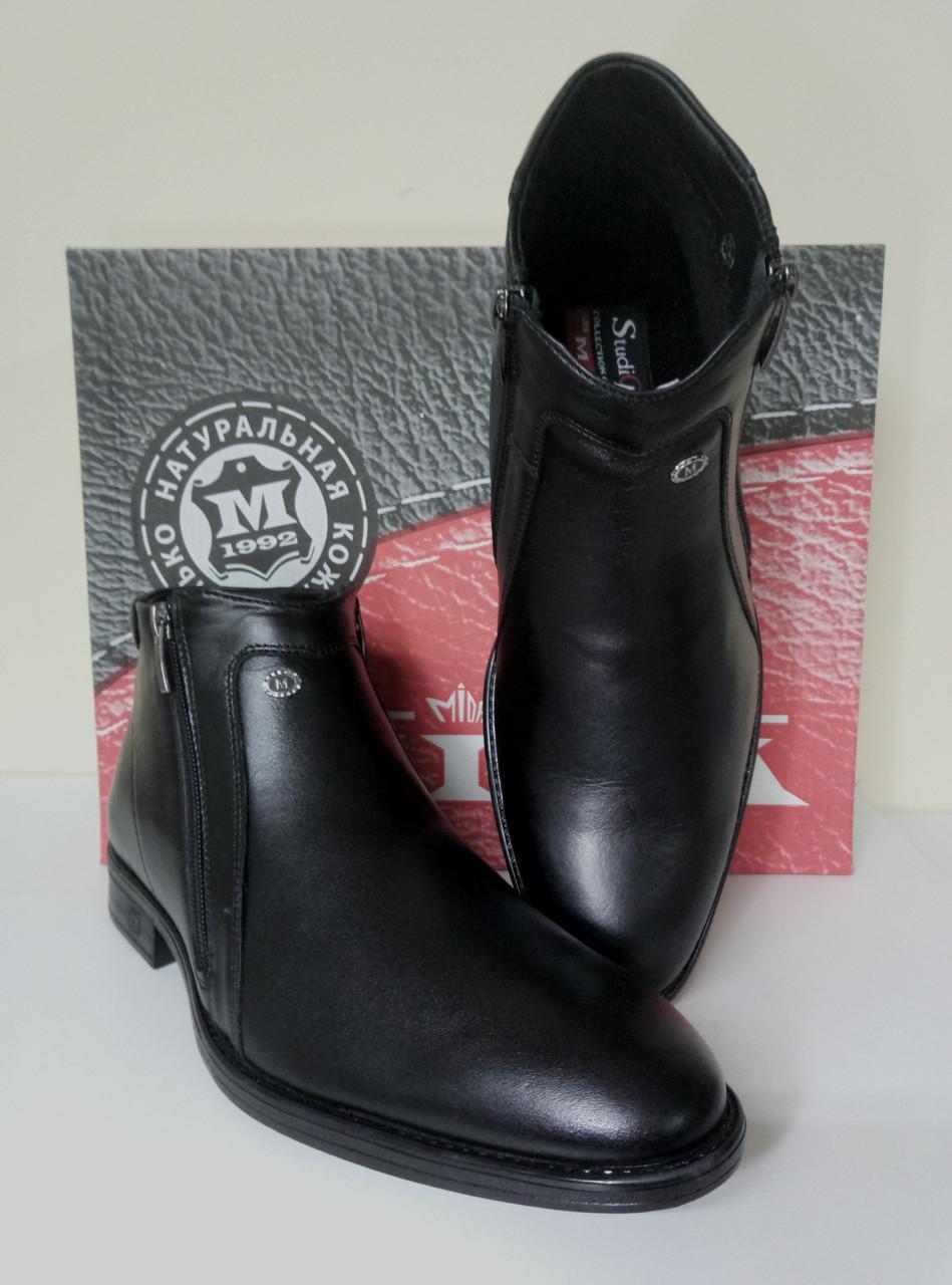 Мужские  демисезонные классические ботинки 45 размер МИДА
