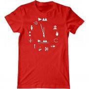 Мужская футболка модная с принтом Depeche Mode Evolution