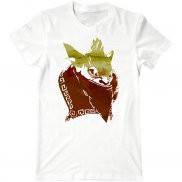 Мужская футболка модная с принтом Bounty-Hunter