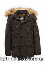 Куртка зимняя на меху для мальчиков GLO-STORY 134/140-170 р.р