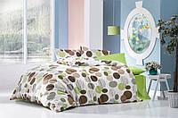 Постельное белье двуспальное евро LightHouse бязь голд GREEN 38663-01_2.0LH