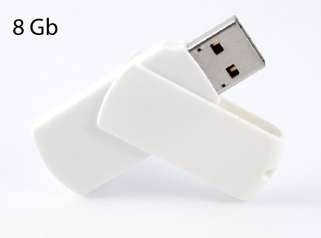 Флеш-накопичувач USB 2.0 8Gb GOODRAM Colour White-White bulk